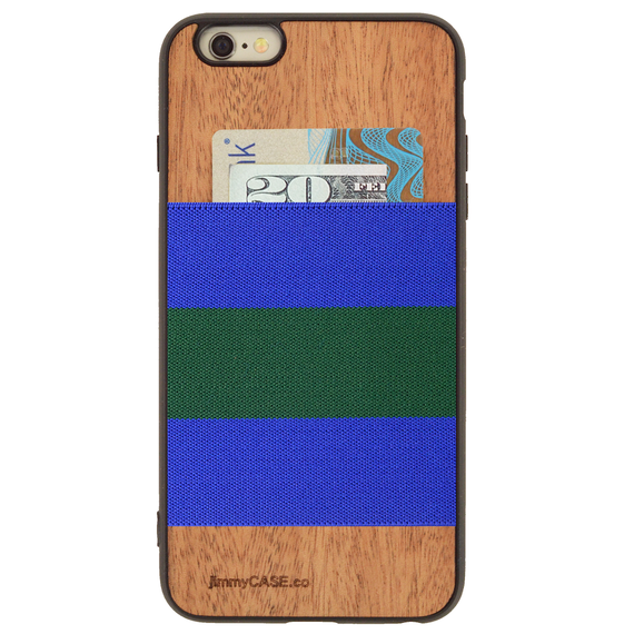 ジミーケース【jimmy CASE】iphone6/6s Plus ケース カラー:ブルー×グリーン