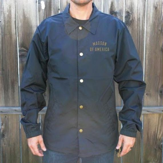 待望の日本上陸!【MADSON OF AMERICA】KEYSTONE COACHES JACKET  color :  Navy / Gold