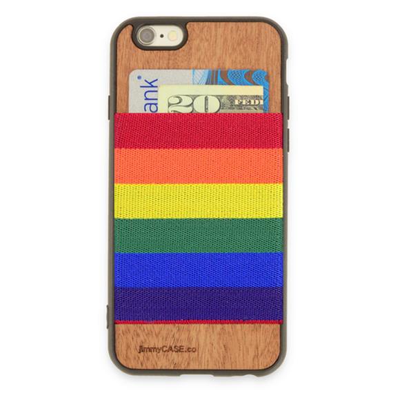 ジミーケース【jimmy CASE】iphone6/6s Plus ケース カラー:レインボー