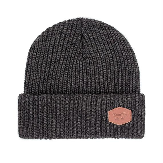 ブリクストン【BRIXTON】TRIG BEANIE    Color: WASHED BLACK/BLACK