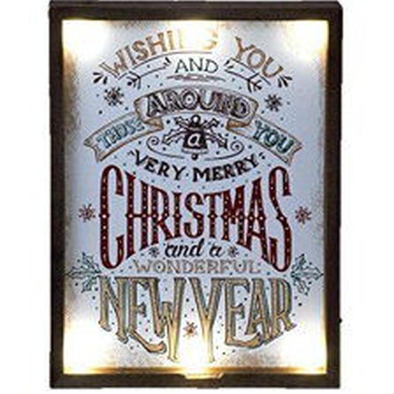 2018かわいいクリスマスにしよう!クリスマスLEDサインボード