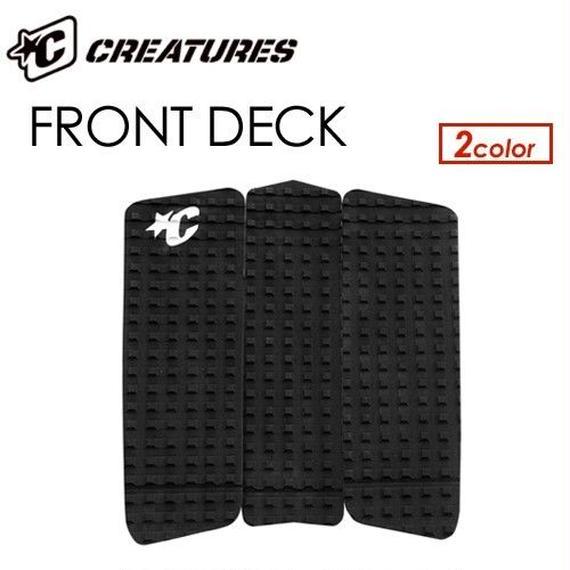 クリエイチャーズ【CREATURES】デッキパッチ FRONT DECK  カラー:ブラック