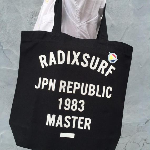【RADIX ORIGINAL】トートバッグ  color:Black