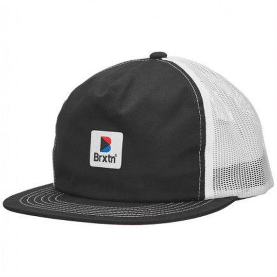 2018モデル ブリクストン【BRIXTON】STOWELL UP MESH CAP  color : BLACK/WHITE