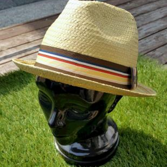 【BRIXTON】CASTOR  FEDORA   color:Tan
