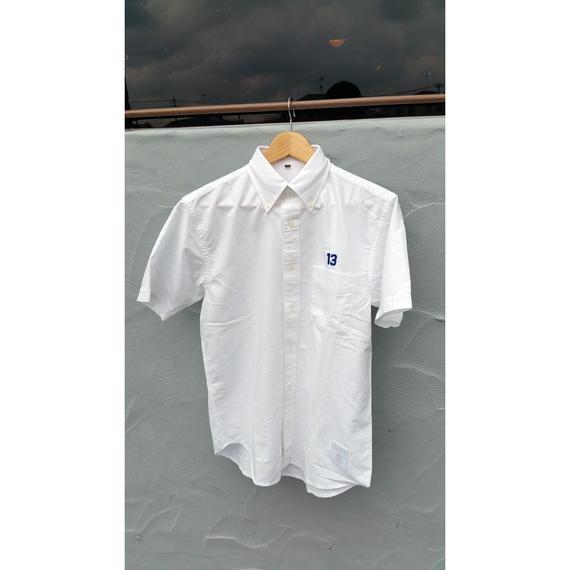 ナスティ【13NASTY】コットンシャツ カラー:White