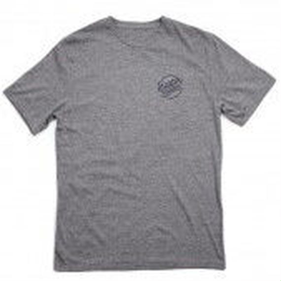 【BRIXTON】SUNDER S/S PREM TEE   color:Heather Grey