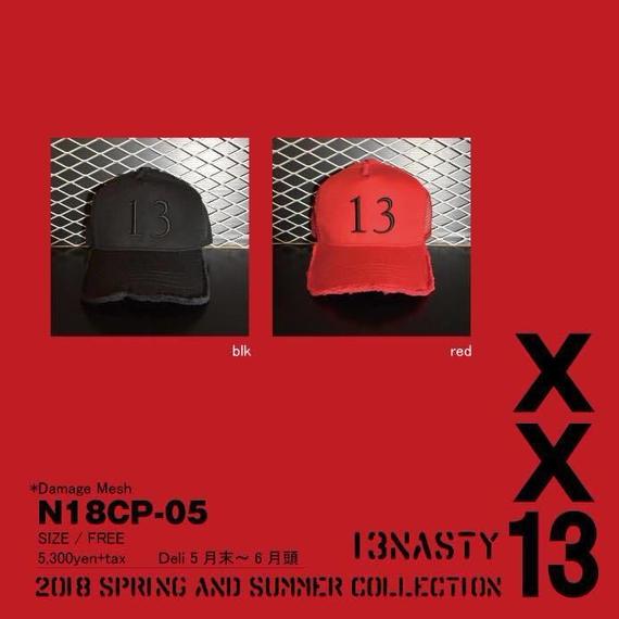 完全受注生産!2018 new model ナスティ【13NASTY】N18-CAP05