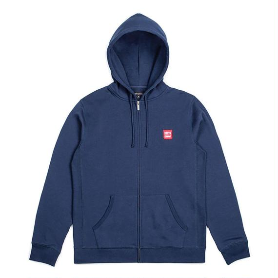 ブリクストン【BRIXTON】Bering Zip Hood Fleece  color:NAVY