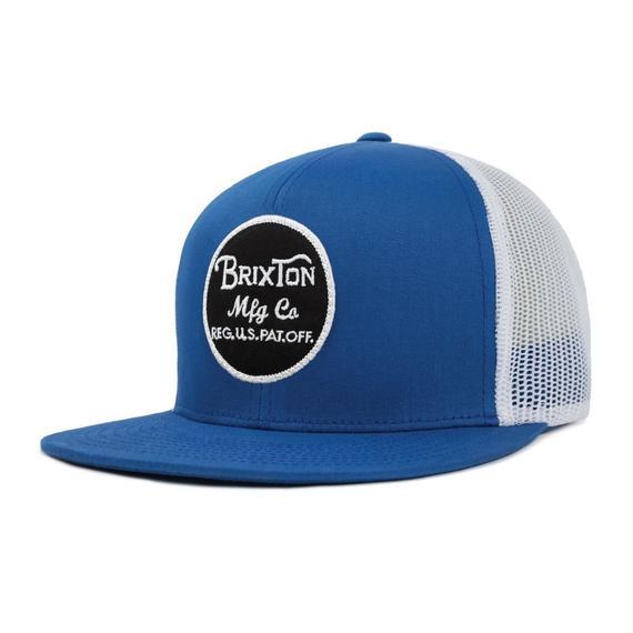 2018モデル ブリクストン【BRIXTON】WHEELER MESH CAP  color : ROYAL / WHITE