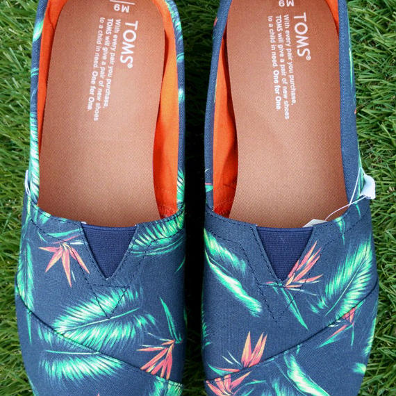 【TOMS】Navy Birds Of Paradise