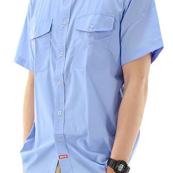 ブリクストン【BRIXTON】ランダーワークシャツ カラー:ブルー