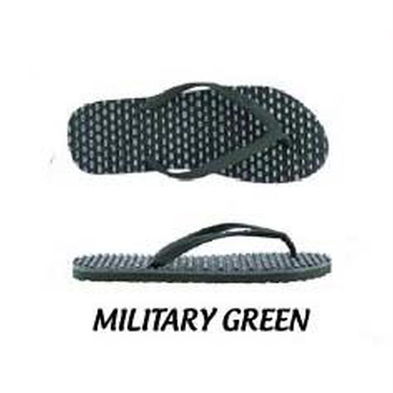 【SOULS】Confort Massage Thongs  color:MILITARY GREEN