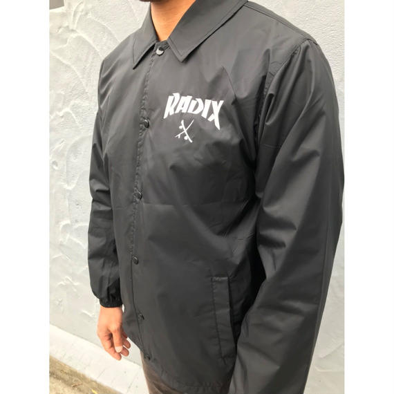 オールシーズン使える!RADIX ORIGINAL】COACH JACKET  color : Black