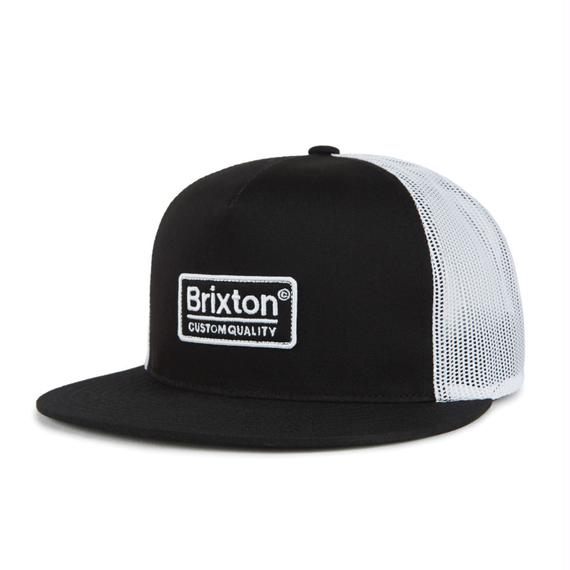 2018秋冬モデル ブリクストン【BRIXTON】PALMER MESH CAP  color : Black / White