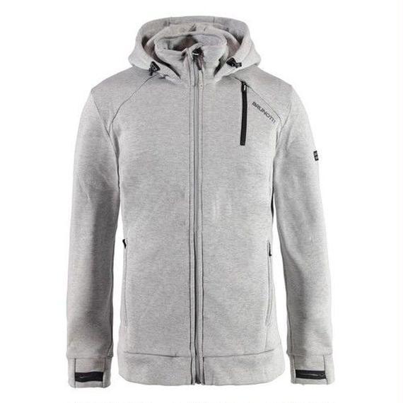 日本市場本格上陸!先行販売!ブルノッティ【BRUNOTTI】Tevero Men Fleece   color : light gray melee
