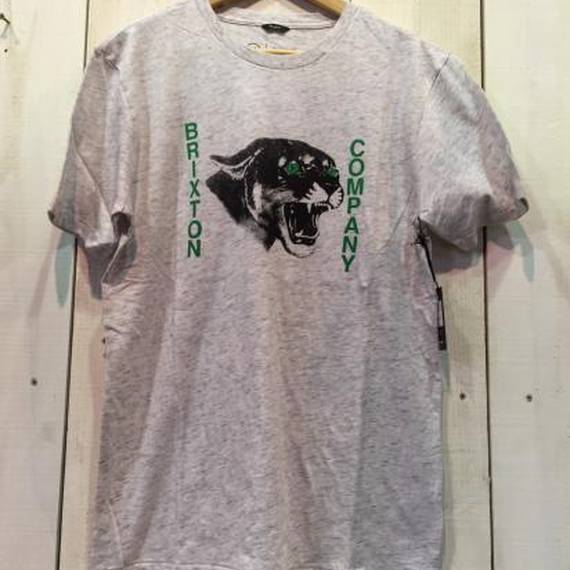 【BRIXTON】Warwick Premium Tee   color:Heather Stone