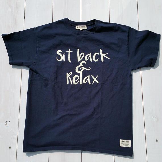 マジックナンバー【MAGIC NUMBER】Sit back Tee   color:Navy