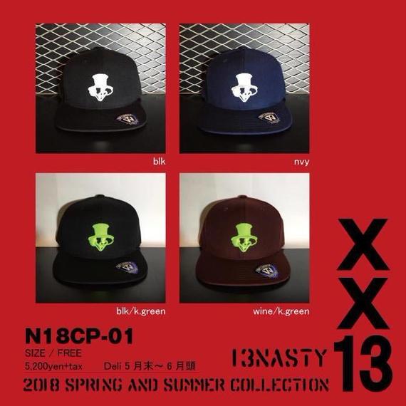完全受注生産!2018 new model ナスティ【13NASTY】N18-CAP01