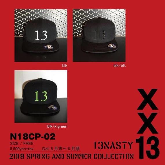 完全受注生産!2018 new model ナスティ【13NASTY】N18-CAP02