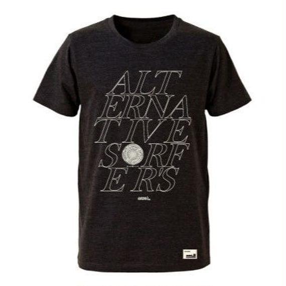 3月Tシャツ祭り!【JUSTICE】ALTERNATIVE TEE  color:Ash Black