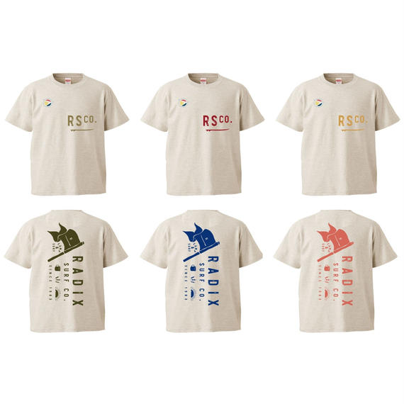 2018 SURF CAMP 第1弾予約受付中‼【RADIX ORIGINAL】SURF CAMP KIDS TEE  Design B