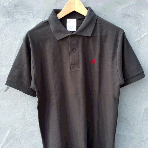 【13NASTY】16POLO SHIRT  color:Black