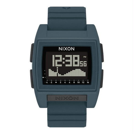 ニクソン サーフウォッチ!【NIXON】THE BASE TIDE PRO   color : Dark Slate