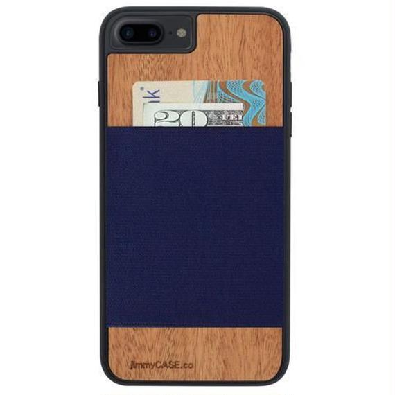 ジミーケース【jimmy CASE】iphone7/6/6s Plus ケース カラー:スティールブルー
