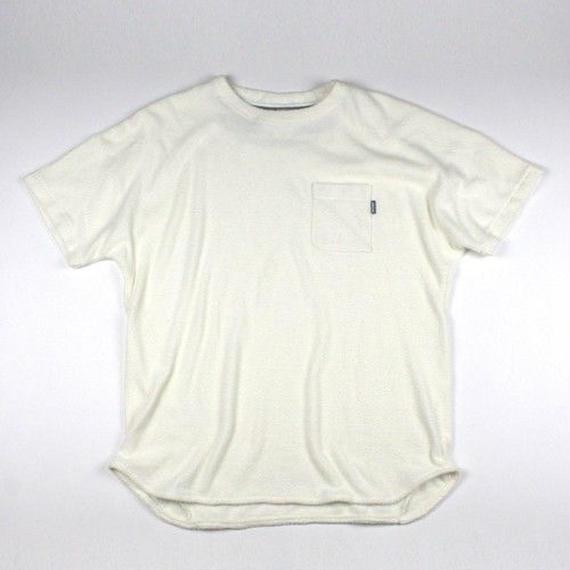 マジックナンバー【MAGIC NUMBER】W Pile Drop Tee  color:Off White