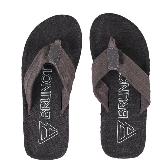 2018 SUMMER MODEL ブルノッティ【BRUNOTTI】 Chukaroo Men Slipper  color : Black