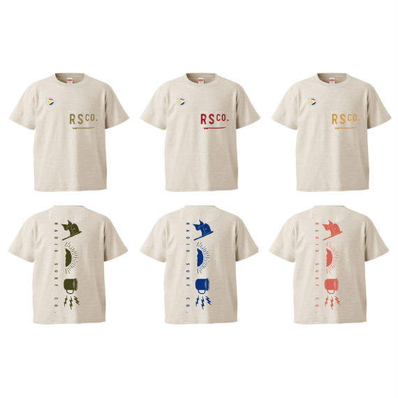 2018 SURF CAMP 第1弾予約受付中‼【RADIX ORIGINAL】SURF CAMP KIDS TEE  Design A