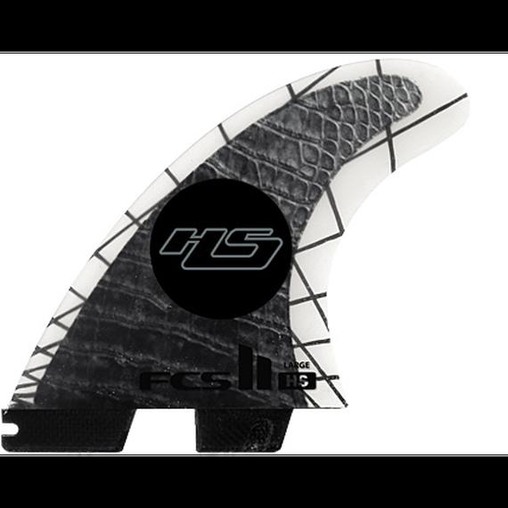 脱着式フィンシステム! エフシーツー【FCSⅡ】HS PC CARBON TRI FIN