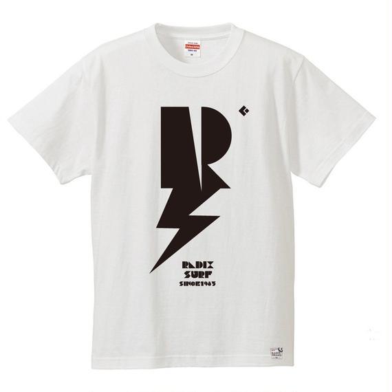 3月Tシャツ祭り!【RADIX ORIGINAL】2017 THUNDER TEE  color:バニラホワイト×ブラック