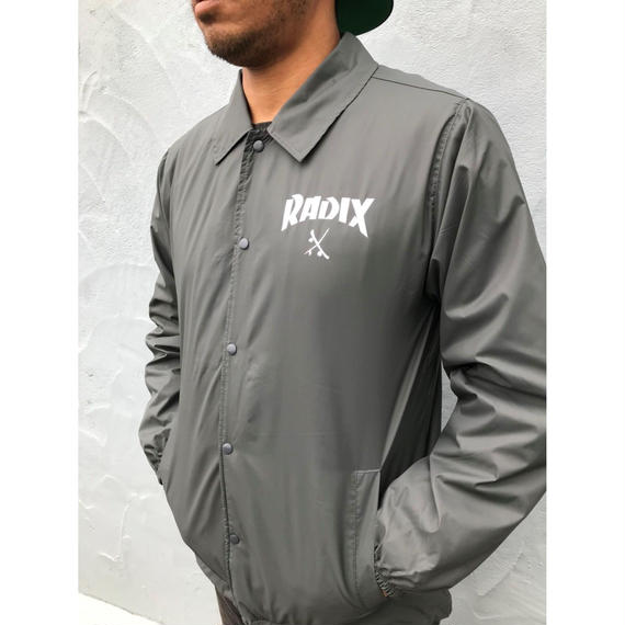 オールシーズン使える‼【RADIX ORIGINAL】COACH JACKET  color : Grey