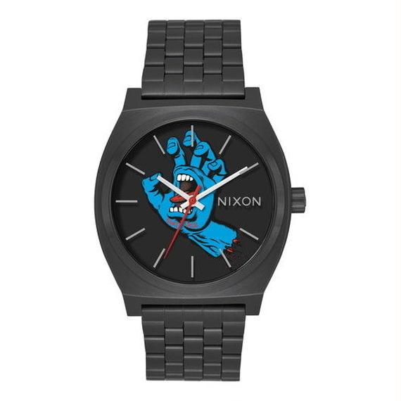 ニクソン【NIXON】SANTA CRUZ    THE TIME TELLER   NA0452894-00 BLACK/SCREAMING HAND