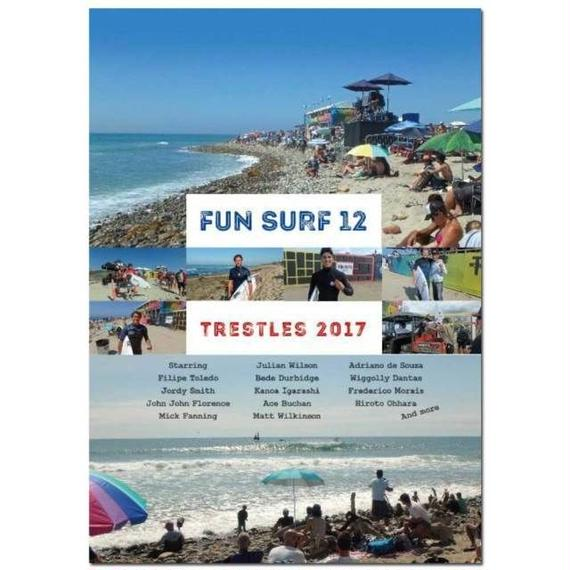 【DVD】FUN SURF 12   TRESTLES2017