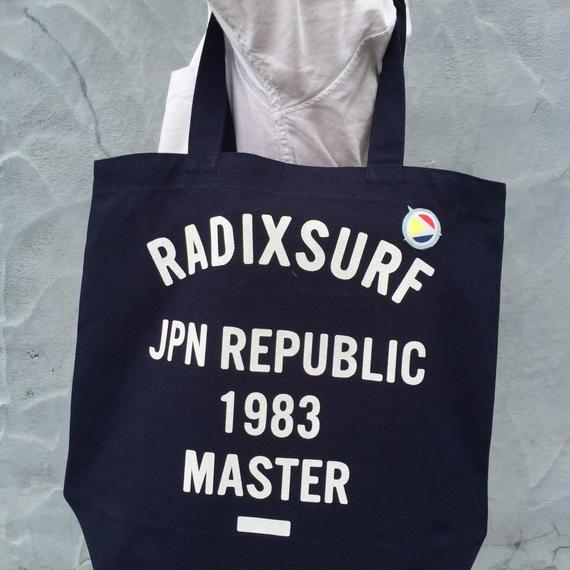 【RADIX ORIGINAL】トートバッグ  color:Navy