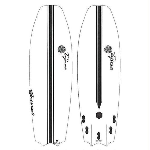 NEW!2018モデル【JUSTICE】BARRACUDA model   Length 5'4(162.6cm)