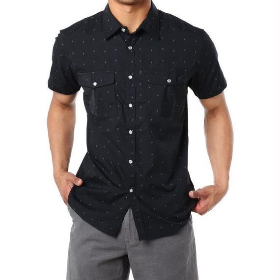 ブリクストン【BRIXTON】ウェインワークシャツ カラー:ブラック