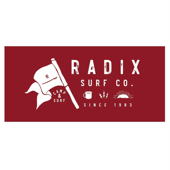 2018 SURF CAMP 予約受付中‼【RADIX ORIGINAL】SURF CAMP 今治タオル