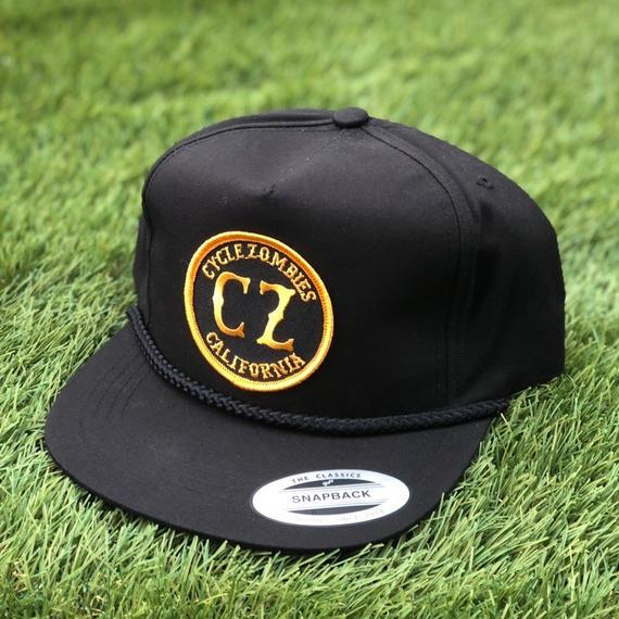 カリフォルニア発! サイクルゾンビーズ【CYCLE ZOMBIES】CALI ROPE Snapback Hat