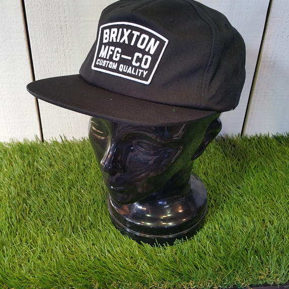 2018 CAP/HAT祭り! ブリクストン【BRIXTON】 NATIONAL  SNAPBAK color:BLACK