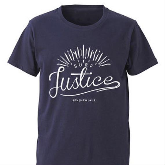【JUSTICE】SUNRISE TEE  color:Navy