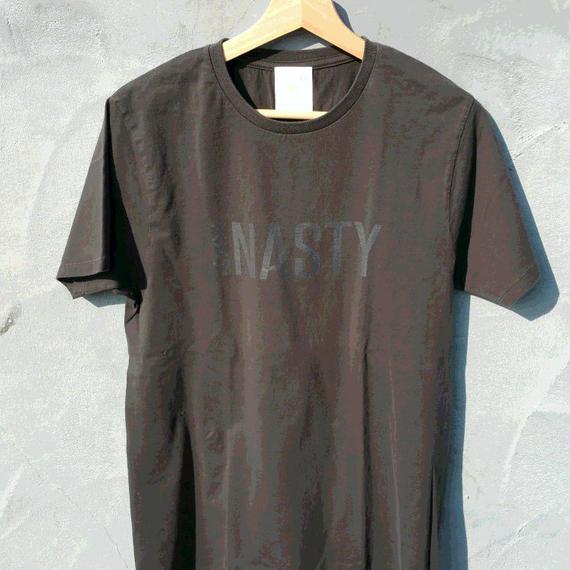 ナスティ【13NASTY】ロゴTシャツ カラー:ブラック