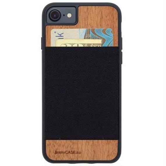 ジミーケース【jimmy CASE】iphone7/6/6s ケース カラー:ブラック