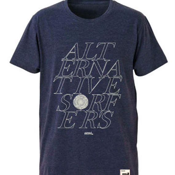 【JUSTICE】ALTERNATIVE TEE  color:Ash Navy