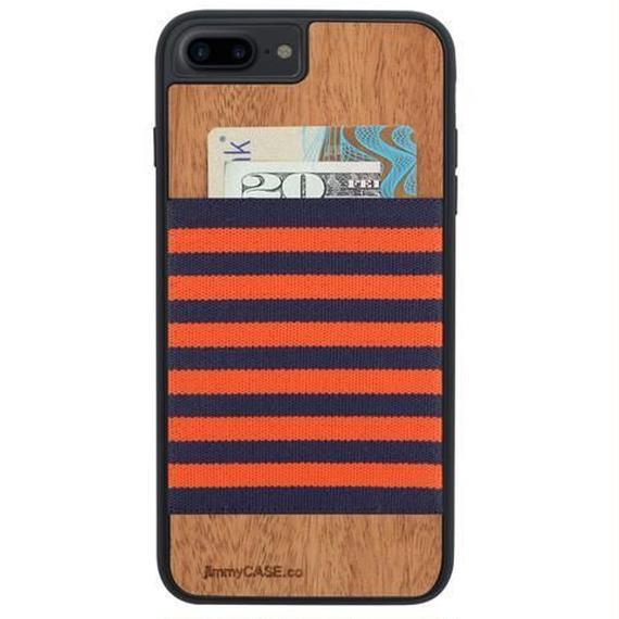 ジミーケース【jimmy CASE】iphone7/6/6s Plus ケース カラー:オレンジ×ネイビー