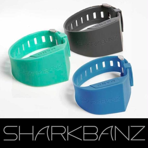 SHARK BANZ  color:Black/Blue/Green