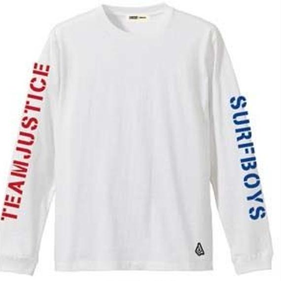 数量限定2017ジャスティスアパレル 001 ロングスリーブTシャツ